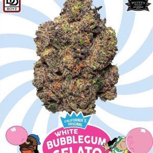 White BubbleGum Gelato strain